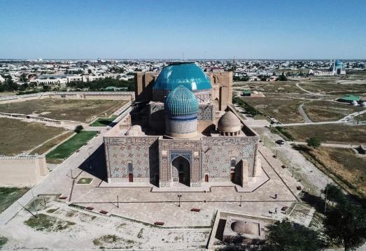 https://ikizkare.com/KAZAKİSTAN'IN TÜRKİSTAN ŞEHRİNDE HOCA AHMET YESEVİ TÜRBESİ