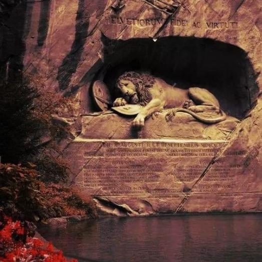 https://ikizkare.com/İsviçre Luzern Aslanı Anıtı